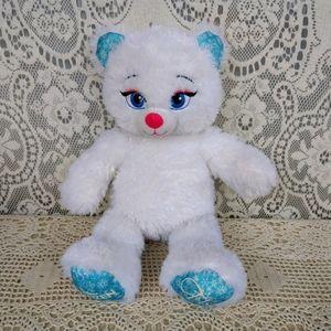 Build-A-Bear Workshop Elsa Frozen Bear White Blue